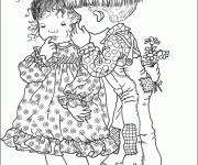 Coloring pages Sarah Kay to print for free