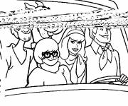 Coloring pages Scooby doo