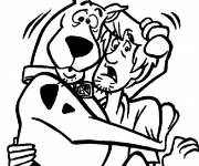 Coloring pages Scooby doo drawing online