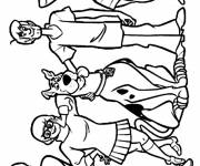Coloring pages Scooby doo free to print