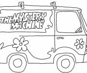 Coloring pages the Scooby doo cartoon