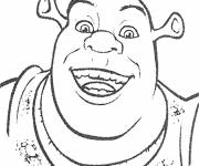 Coloring pages Animated movie Shrek