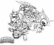 Coloring pages Skylanders to download