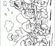 Coloring pages Smurf online free