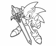 Coloring pages Sonic online free