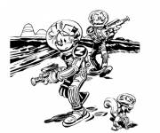 Coloring pages Spirou free to print
