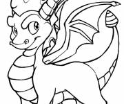Coloring pages Spyro online