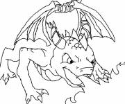 Coloring pages Spyro so strong