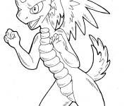 Coloring pages Spyro video games