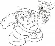Coloring pages Jumba Jookiba and Stitch