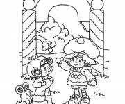 Coloring pages Strawberry coloring page print