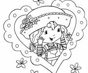 Coloring pages strawberry shortcake's picture
