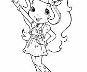 Coloring pages Strawberry to print free