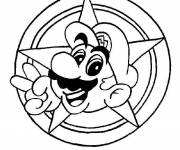 Coloring pages Super mario games