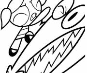 Coloring pages The Powerpuff Girls to print