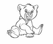 Coloring pages Charley and Mimmo cartoon