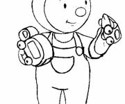 Coloring pages Charley and Mimmo coloring
