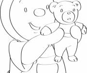 Coloring pages Charley and Mimmo family