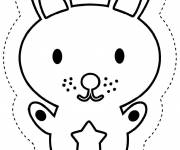 Coloring pages Charley and Mimmo to cut
