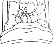 Coloring pages Charley drawing for children