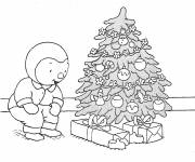 Coloring pages Christmas Charley Drawing