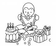 Coloring pages Drawing Charley's birthday