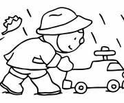 Coloring pages Charley cartoon