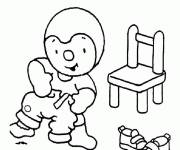 Coloring pages Child Charley Drawing