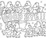 Coloring pages Bears play
