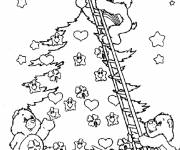 Coloring pages Christmas cares