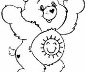 Coloring pages Drawing of Care Bears