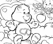 Coloring pages Heart care