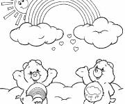 Coloring pages Tenderheart and Grumpy have fun