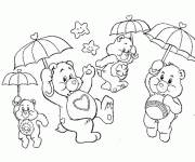 Coloring pages The Magic Bears