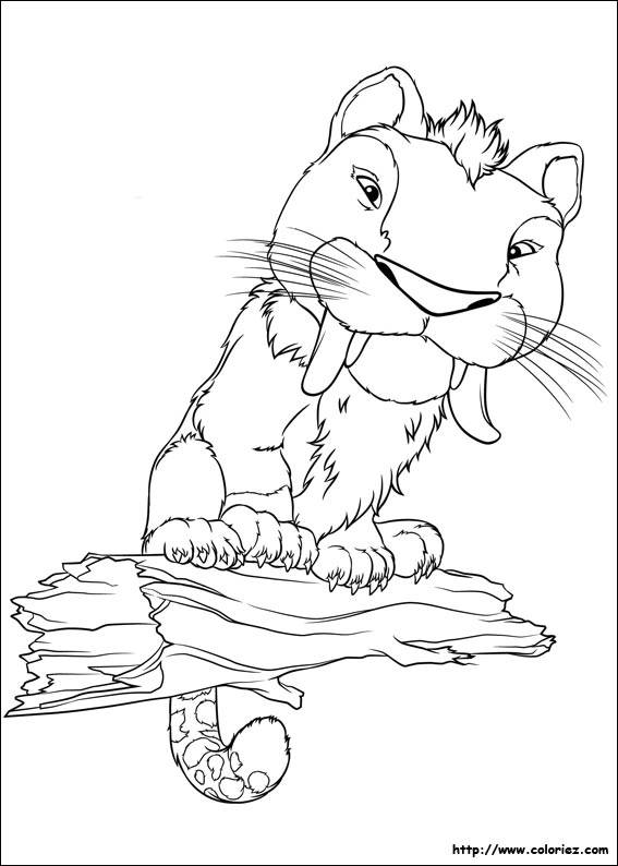 Free coloring and drawings Croods online Coloring page