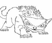 Coloring pages Easy drawing croods