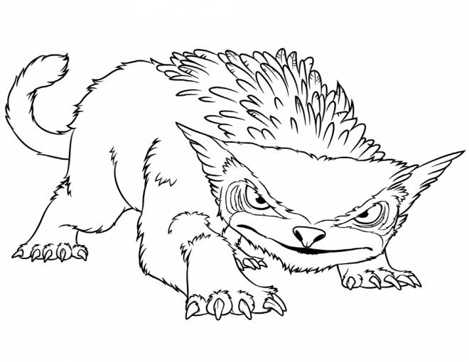 Free coloring and drawings Easy drawing croods Coloring page