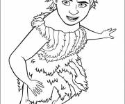 Coloring pages Eep drawing croods