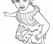 Coloring pages The croods color