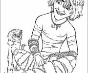 Free coloring and drawings The croods to print Coloring page