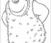 Coloring pages Thunk color croods