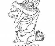 Coloring pages Walt disney croods