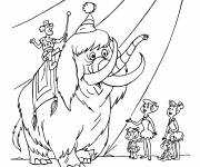 Coloring pages The Flintstones fred coloring