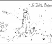 Coloring pages  drawing of The little prince