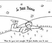 Free coloring and drawings The Little Prince Free  Coloring page