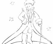 Free coloring and drawings The little prince online Coloring page