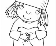 Coloring pages The little prince princess coloring page