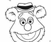 Coloring pages The Muppets Bobo the bear
