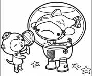 Coloring pages Baby Shellington