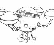 Coloring pages Magic octocapsule